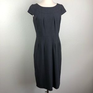 Calvin Klein gray sheath dress